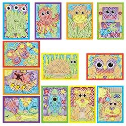 Мозайка с меки елементи - Творчески комплект - играчка