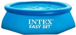 Надуваем басейн с филтърна помпа - Easy Set