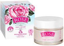 Дневен крем за лице с розово масло - шампоан