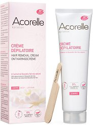 Acorelle Hair Removal Cream - Крем депилатоар за тяло с натурални масла от бадем и босвелия -