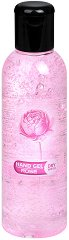 Гел за ръце за сухо измиване с аромат на роза - С 65% спирт, в разфасовки от 85 ÷ 200 ml - гел