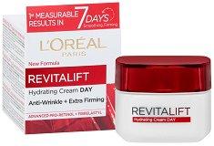 """L`Oreal Revitalift Day Cream - Дневен крем против бръчки от серията """"Revitalift"""" - серум"""