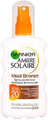 Garnier Ambre Solaire Ideal Bronze - Бронзиращ слънцезащитен спрей - червило