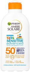 Garnier Ambre Solaire Kids Milk Resisto - Овлажняващо слънцезащитно мляко за деца - продукт