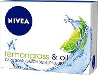 Nivea Lemongrass & Oil - Крем сапун с лимонова трева и подхранващи масла - продукт