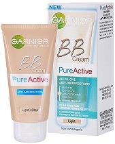 Garnier Pure Active BB Cream -  SPF 15 - Крем против несъвършенства -