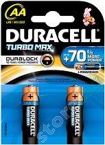 Батерия Turbo Max AA - Алкална (LR6) - 2 ÷ 4 броя -