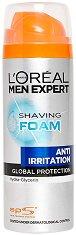 L'Oreal Men Expert Anti-Irritation Shaving Foam - маска