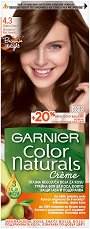 Garnier Color Naturals Creme - Интензивно подхранваща крем боя за коса - молив