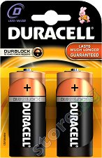 Батерия D - Алкална (LR20) - 2 броя -
