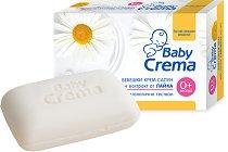 Бебешки крем сапун с екстракт от лайка - пяна