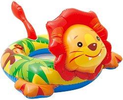 Надуваем детски пояс - Лъвче - Аксесоар за плуване - играчка