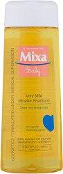 "Mixa Baby Very Mild Micellar Shampoo - Нежен мицеларен бебешки шампоан без сапун от серията ""Mixa Baby"" -"