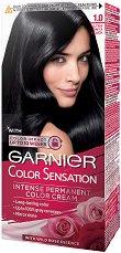 Garnier Color Sensation - Наситена трайна боя за коса - очна линия
