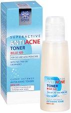 """Bodi Beauty Bille-GD Superactive Anti-Аcne Toner - Анти-акне тоник за лице от серията за проблемна кожа """"Bile-GD"""" - крем"""