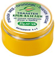 Тоалетен крем-вазелин за силно напукани ръце и крака -