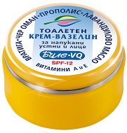 Тоалетен крем-вазелин за напукани устни и лице - SPF 12 - шампоан