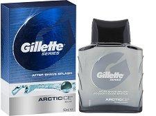 "Gillette Series After Shave Splash Arctic Ice - Афтършейв с охлаждащ ефект от серията ""Series"" -"
