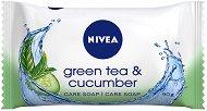 Nivea Green Tea & Cucumber - Тоалетен сапун с екстракт от краставица и аромат на зелен чай - сапун