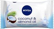 Nivea Coconut & Almond Oil - Тоалетен сапун с бадемово масло и аромат на кокос - душ гел