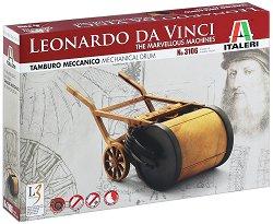 Da Vinci - Механичен барабан - Сглобяем модел -