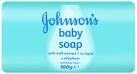 Johnson's Baby Soap with Milk Extract - Бебешки сапун с млечен протеин - продукт