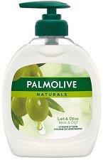 """Течен сапун - Ultra Moisturizing - С маслина и алое вера от серията """"Palmolive Naturals"""" -"""