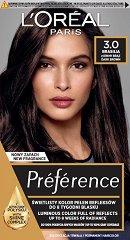 L'Oreal Preference - Трайна боя за коса - продукт
