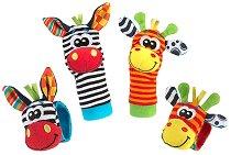 Моите първи дрънкалки за ръце и крака - Джунгла - Бебешка играчка - продукт