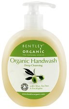 Bentley Organic Deep Cleansing Handwash - Течен сапун с масла от маслина, чаено дърво и евкалипт -