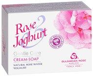 Крем сапун с натурална розова вода и йогурт - маска
