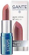 Sante Pure Colors of Nature Lipstick - Червило за неустоими устни - душ гел