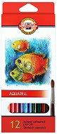 Цветни акварелни моливи - Риби