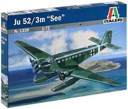"""Военен самолет - Ju-52/3m """"See"""" - Сглобяем авиомодел - продукт"""