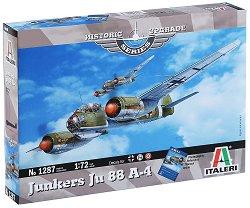 Военен самолет - Junkers Ju 88 A-4 - Сглобяем авиомодел -