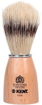 Четка за бръснене с косъм от глиган - Kent Natural - четка