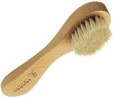Дървена четка за почистване на лице с косъм от пони - продукт