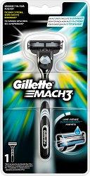 "Gillette Mach 3 Regular - Самобръсначка от серията ""Mach 3"" - шампоан"