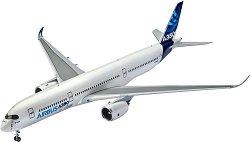 Пътнически самолет - Airbus A350 - Сглобяем авиомодел - макет