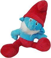 """Татко Смърф - Плюшена играчка от серията """"Смърфовете"""" -"""