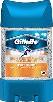 Gillette Sport Triumph Antiperspirant - Део гел против изпотяване с микрогранули - крем