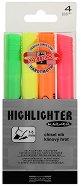 Текстмаркери със скосен връх - Комплект от 4 цвята