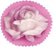 Кръгъл глицеринов сапун - Роза - продукт