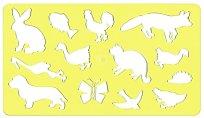 Фигурален шаблон - Животните на двора