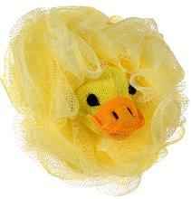 Детска мрежеста гъба за баня - Пате - душ гел