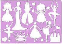 Фигурален шаблон - Принцеси