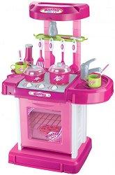 Детска кухня - My Kitchen - Със звукови ефекти и аксесоари -
