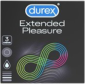 Durex Extended Pleasure - Опаковка от 3 броя - шампоан