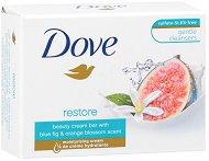 """Dove Go Fresh Restore whit Blue Fig & Orange Blossom Scent Soap - Крем сапун с аромат на смокиня и портокалов цвят от серията """"Go Fresh - Restore"""" - душ гел"""