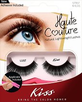 Мигли от естествен косъм - Haute Couture Lust - В комплект с лепило и апликатор -